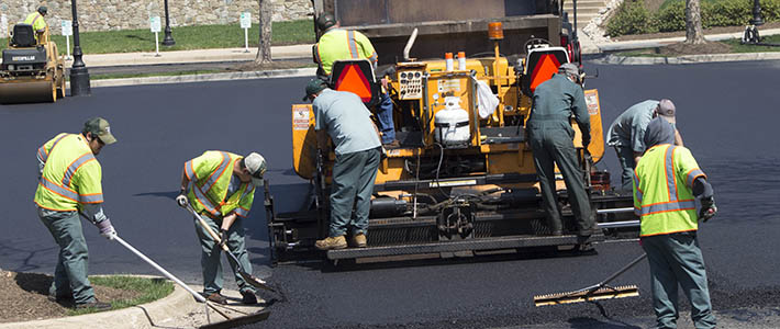 Photo of Dominion Pavers working a job site